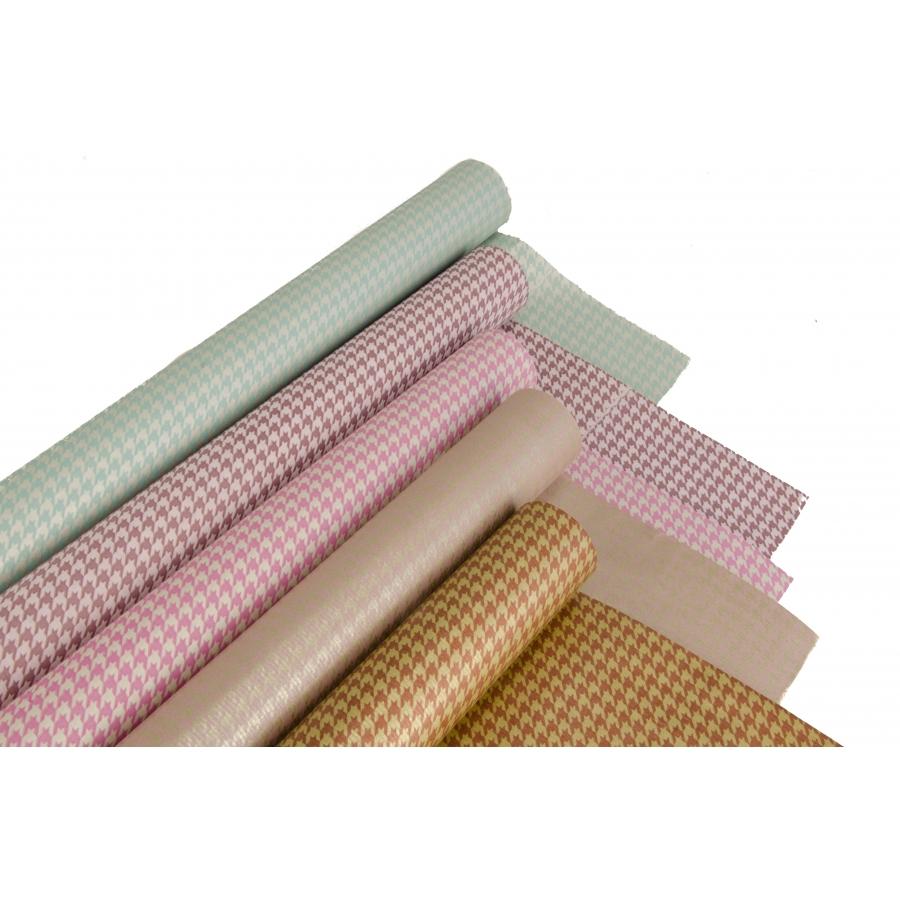 """Multicolor paper series """"Goose Feet"""" 70cm / 8m"""