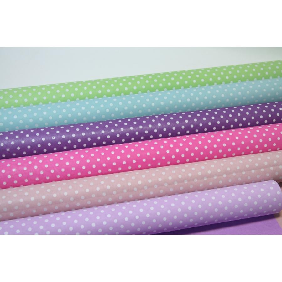 "Paper Multicolor ""Pea"" 70cm / 8m"