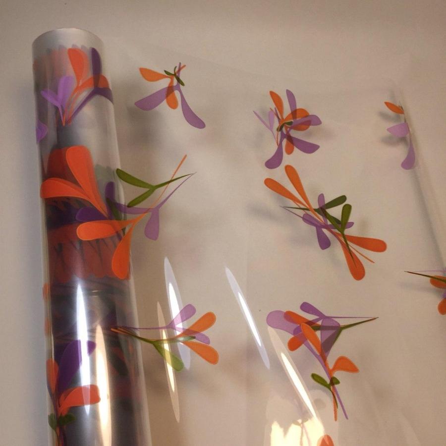 Плівка для квітів прозора 70см\ 10м Пелюстки 1 + 1 (один купуєш, другий в подарунок)