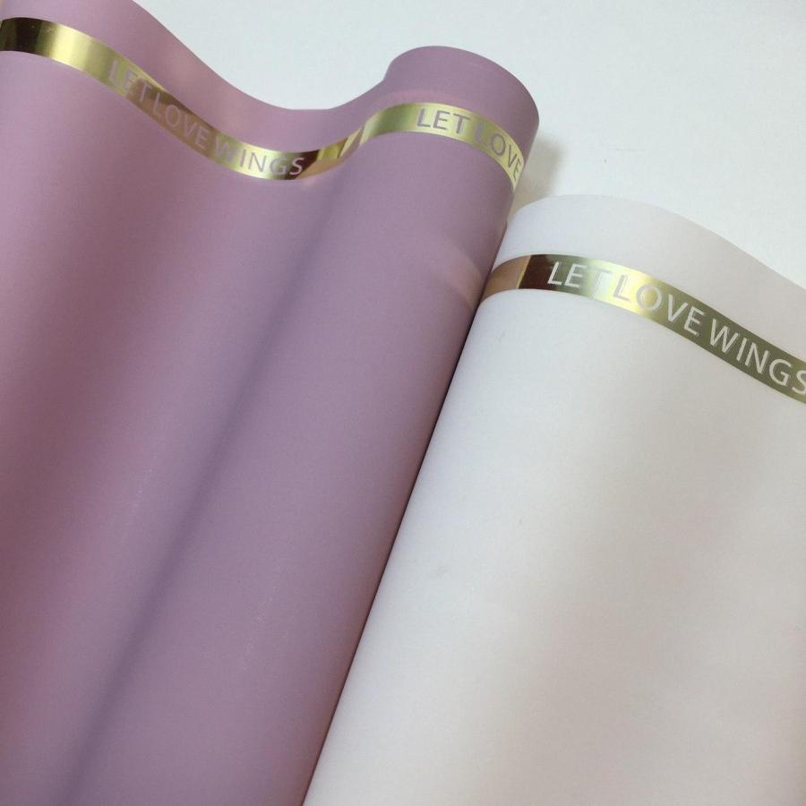 """Matte film for flowers """"Gold velvet"""" 60cm \ 10m"""