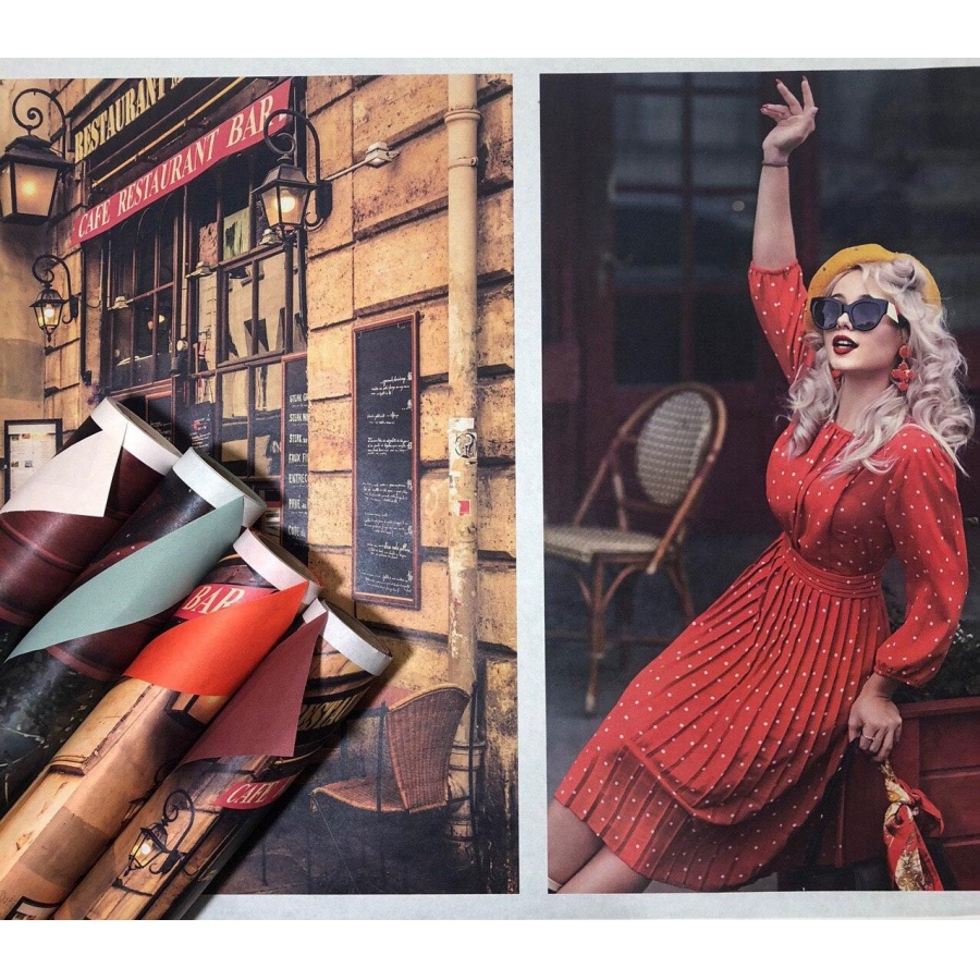 "Бумага двухсторонняя ""Fashion trend"" Paris"