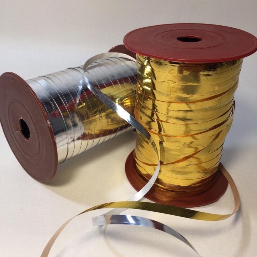 Стрічка декоративна металізована 0,5см