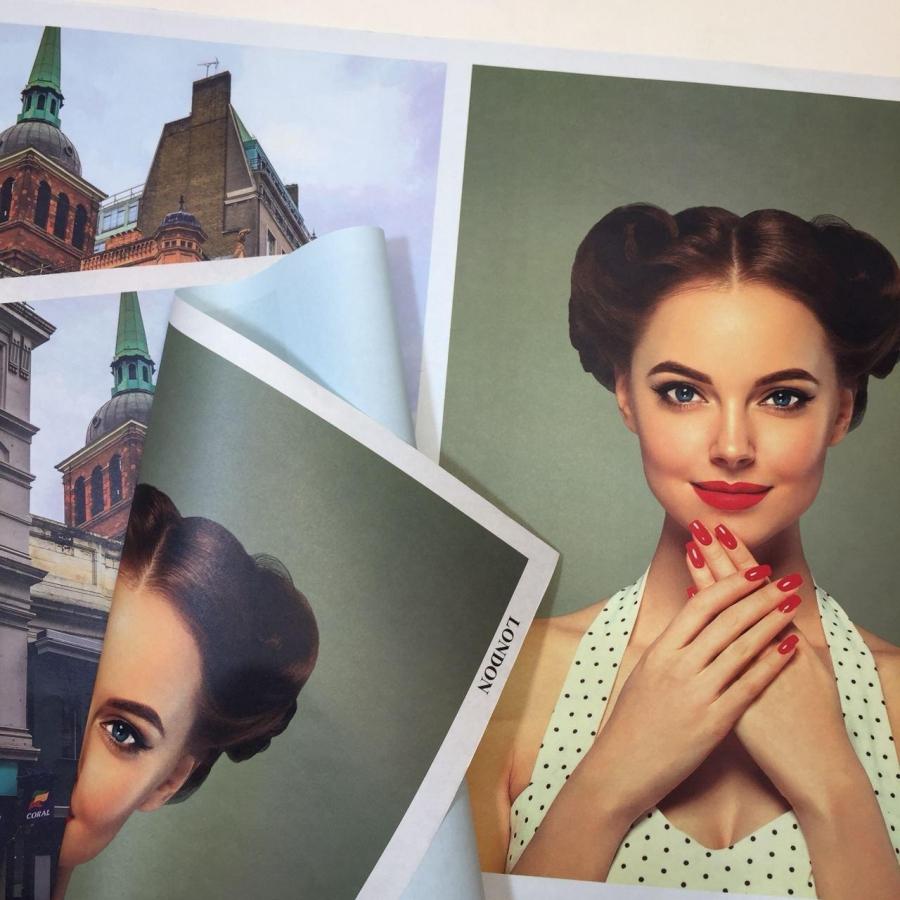 "Бумага в листах ""Fashion trend"" London"