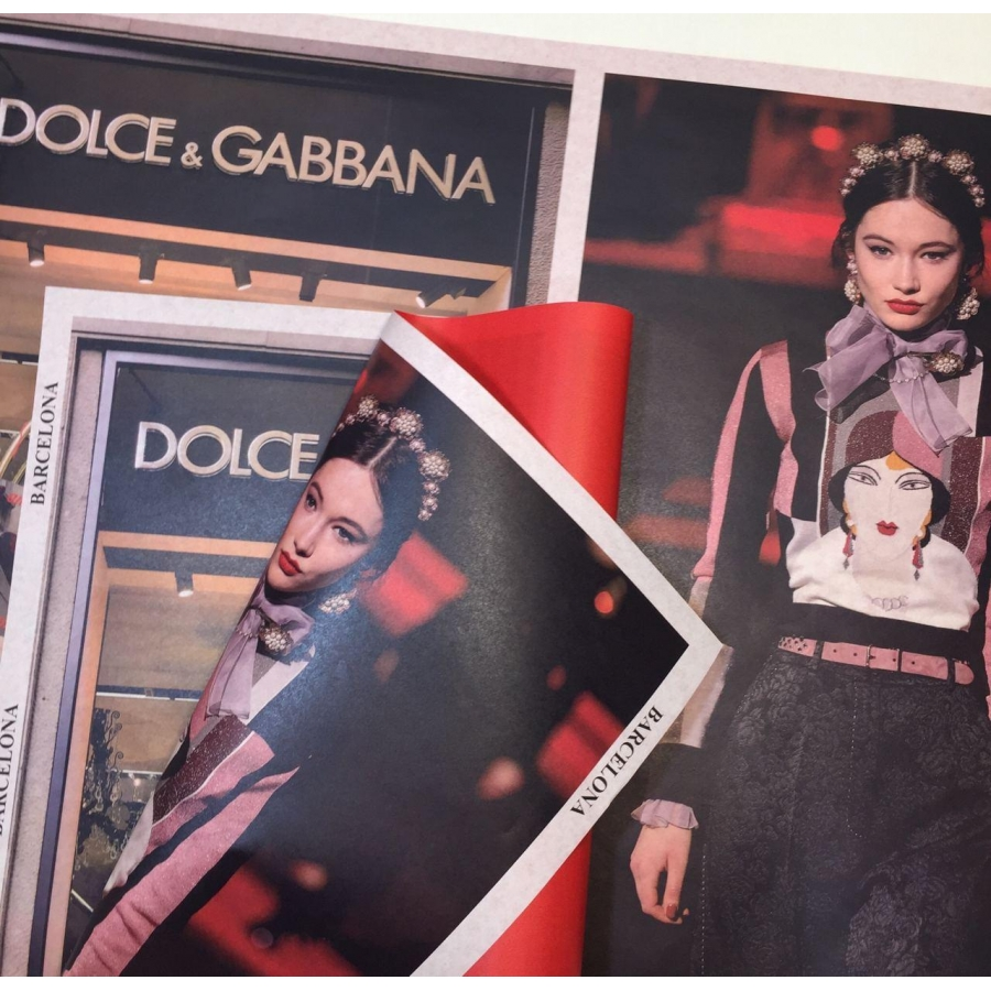 "Папір в листах ""Fashion trend"" Barcelona"