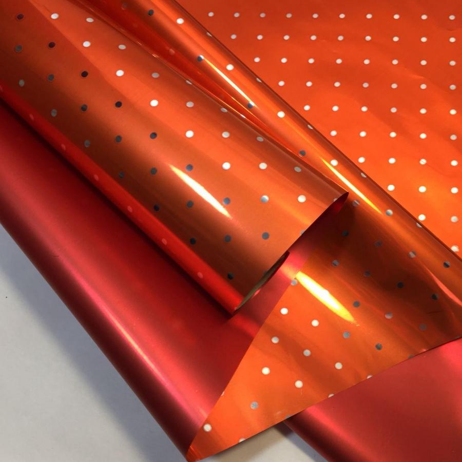 Плівка металізована в горошок