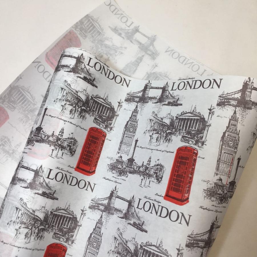 Папір «London» на білому 70см/8м