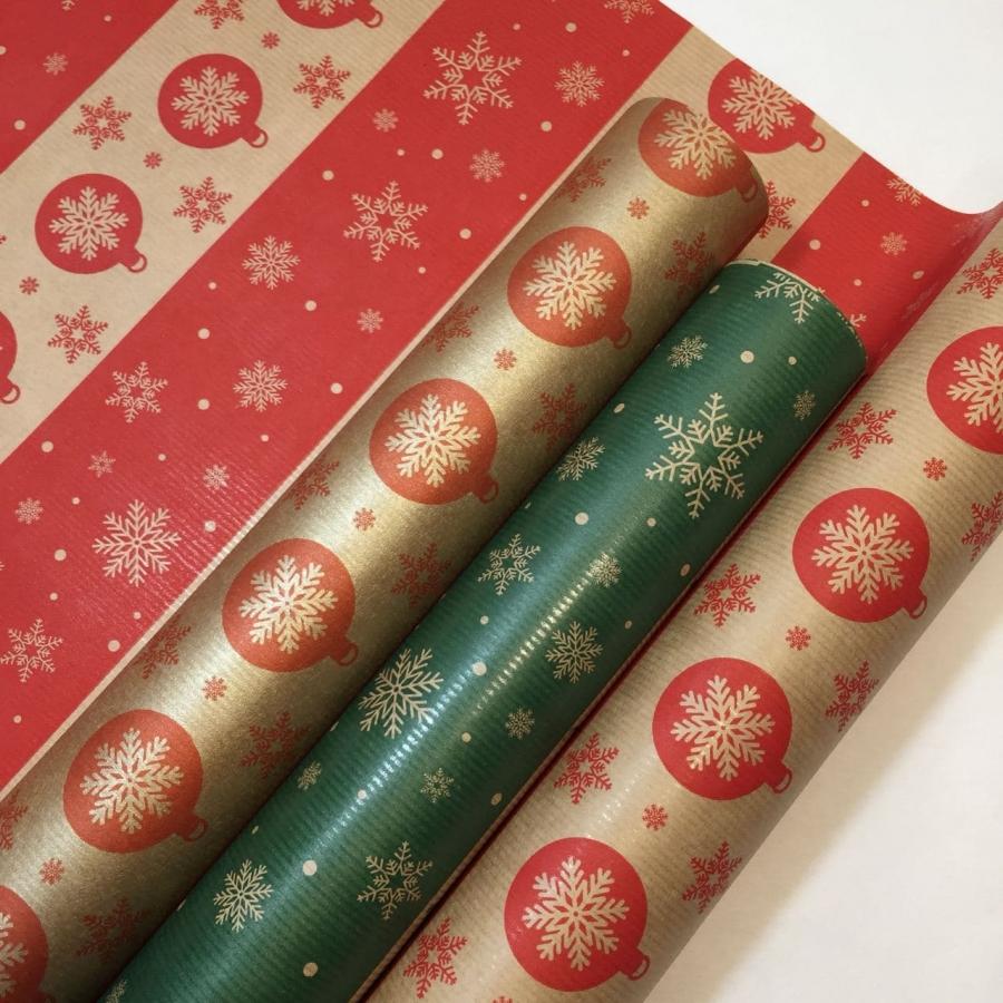 """Папір подарунковий """"Новорічний орнамент"""""""