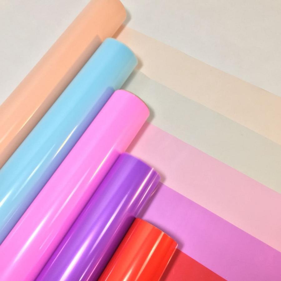 Пленка для цветов полупрозрачная 60см \ 10м